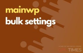 mainwp bulk settings