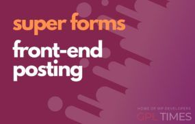 sforms front end posting