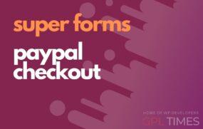 sforms paypal checkout