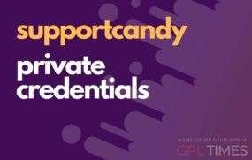 support candy private credentials