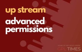up stream adv permissions
