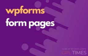 wp forms form pages