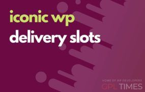 iconic wp delivery slots