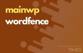mainwp wordfence