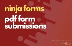 ninjaform pdf form submissions