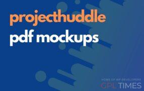 projecthuddle pdf mockups