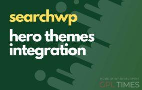 search wp hero theme integration