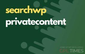 search wp privatecontent