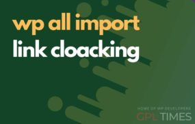 wp allimport link cloacking