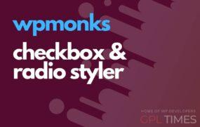 wp monks checkbox styler