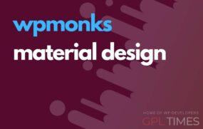 wp monks material design