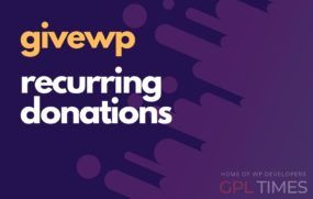 givewp recurring donations