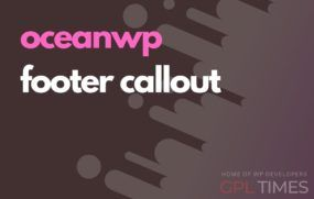ocean wp footer callout