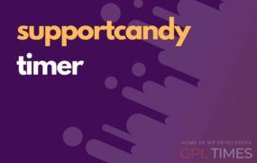 support candy timer