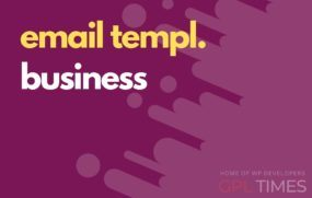 email temp business