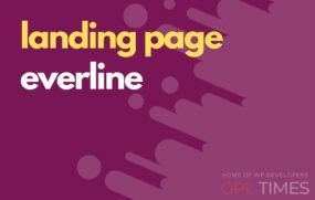 landing page temp everline