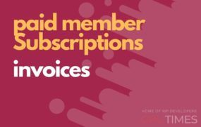 paid member invoices