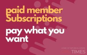 paid member pay what you want