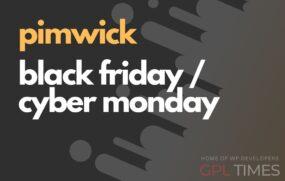 Pimwick black friday cyber monday