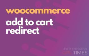 add to cart redirect