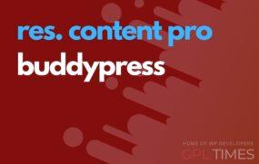 rc pro buddypress