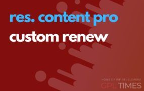 rc pro custom renew