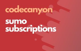 codecanyon sumo subscriptions