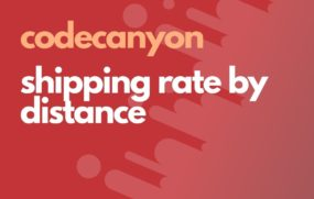shipping rate by distance